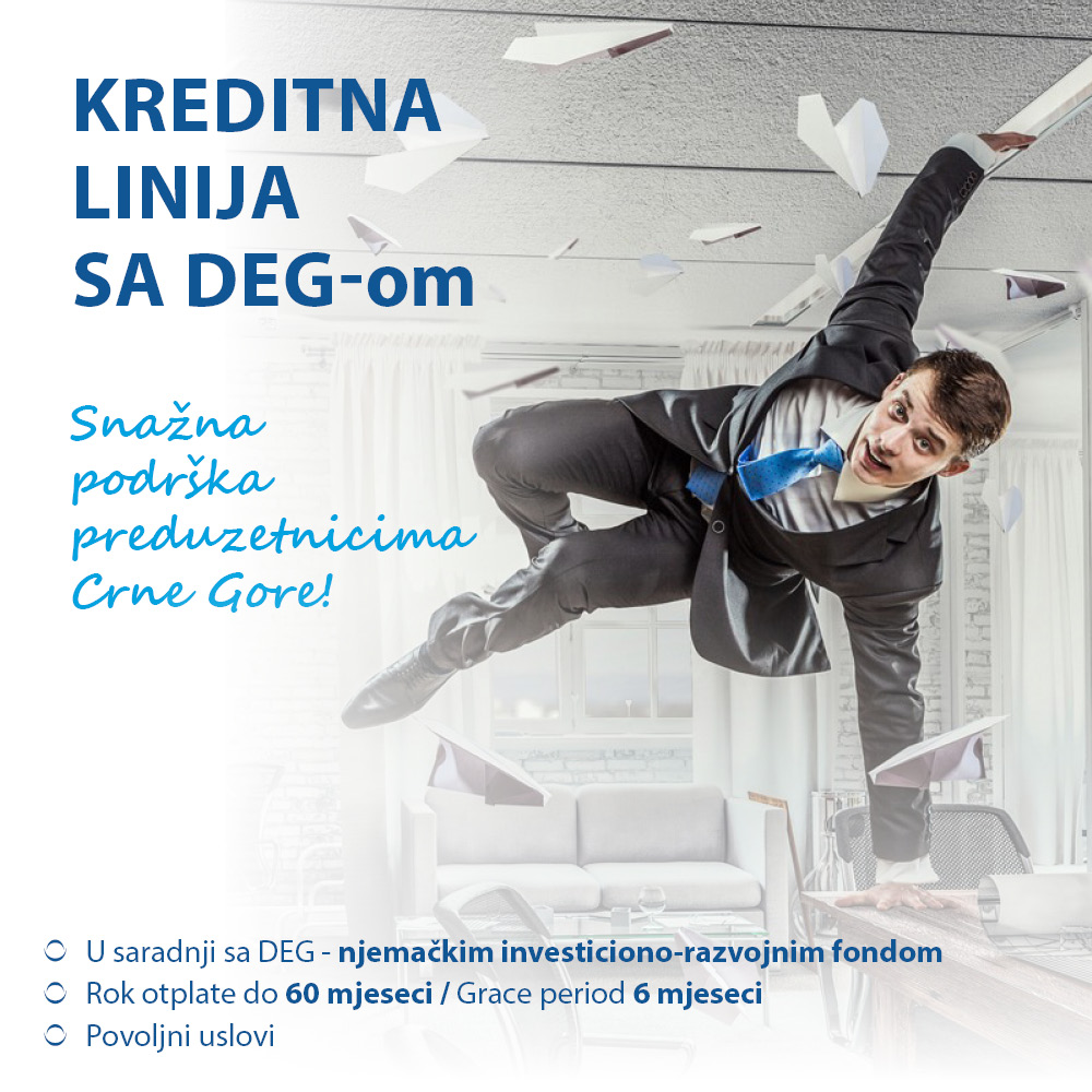 Kreditna linija sa DEG-om
