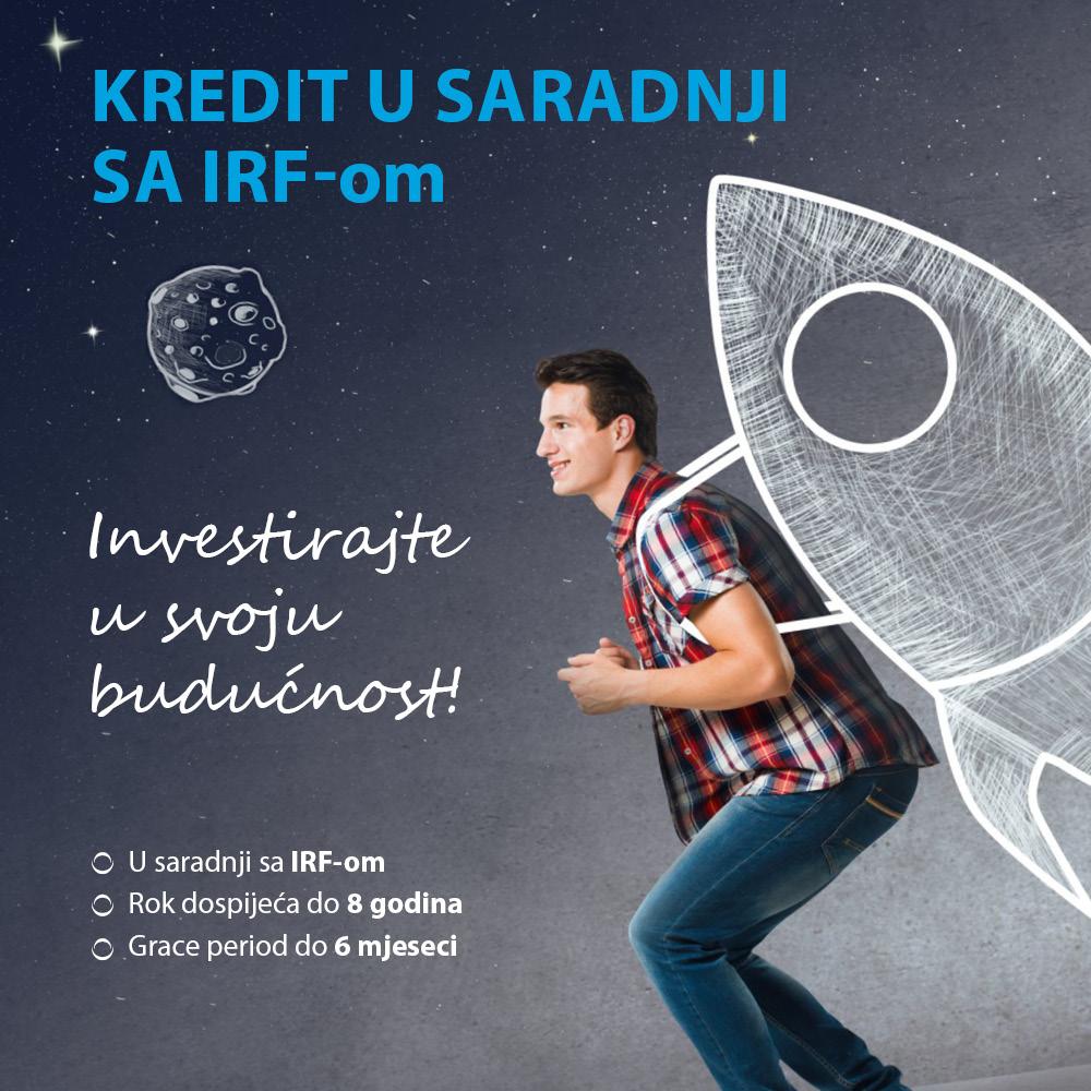 Kredit u saradnji sa IRF-om