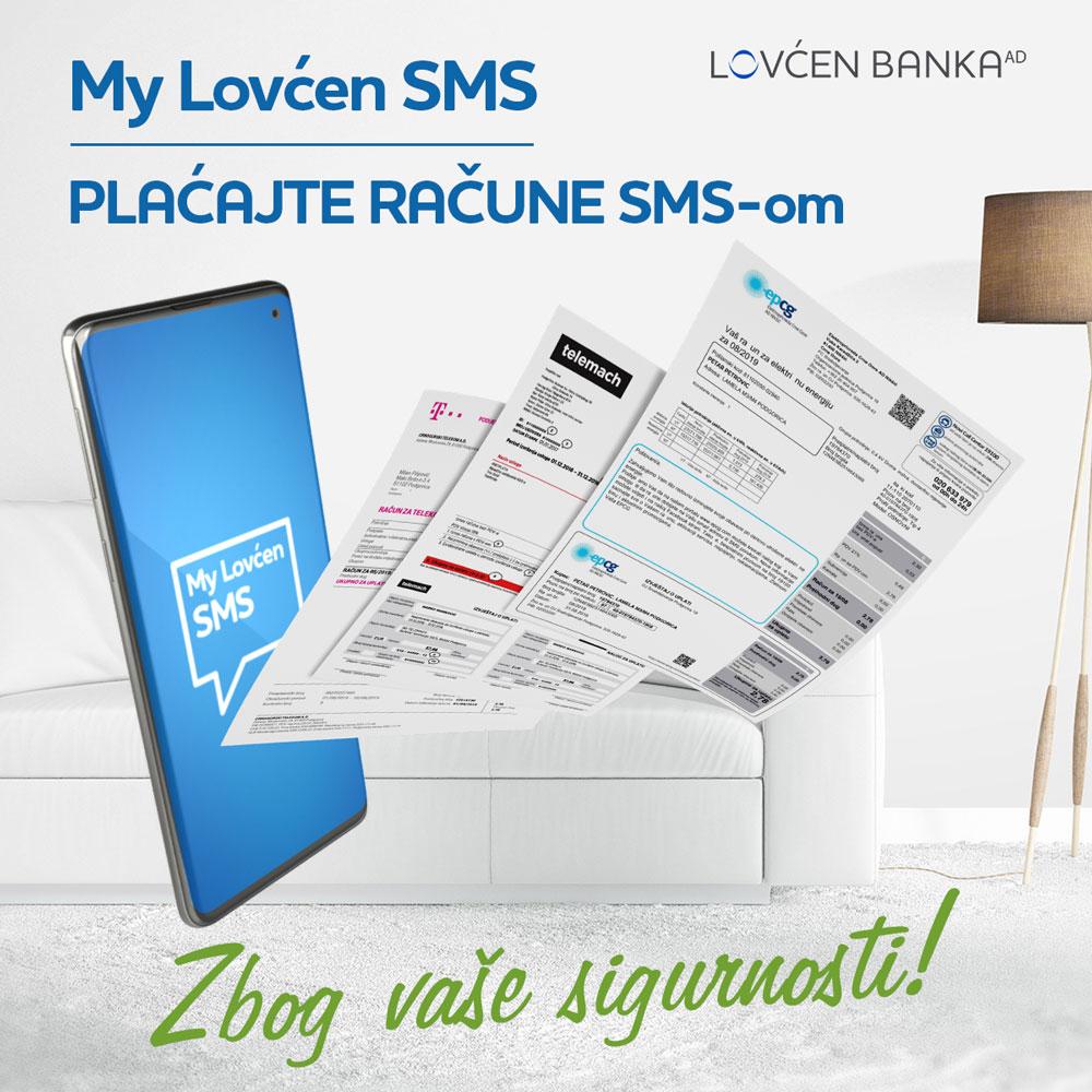My Lovćen SMS